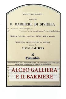 Alceo Galliera e Il Barbiere