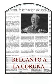 Belcanto a La Coruña