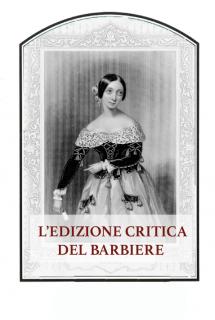 La edizione critica del Barbiere di Siviglia